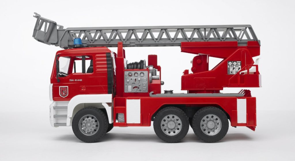 Geschenkidee Feuerwehrauto