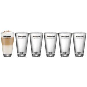 Geschenk Lattemacchiato Gläser Set Geschenkidee