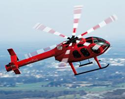 Hubschrauber-Rundflug uebers Ruhrgebiet