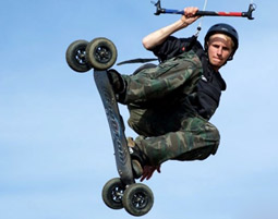 Kite-Landboarding