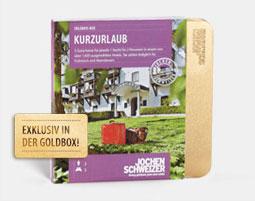 Erlebnis-Box 'Kurzurlaub fuer 2'