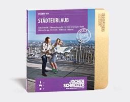 Erlebnis-Box 'Staedteurlaub fuer 2'