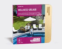 Erlebnis-Box 'Wellness-Urlaub fuer 2'