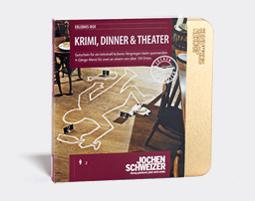 Erlebnis-Box 'Krimi, Dinner & Theater' fuer 2
