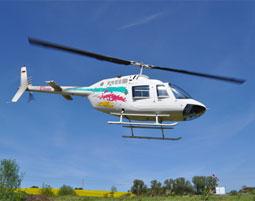 Hubschrauber Rundflug ueber Ruegen