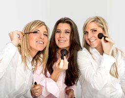 Make-Up Party fuer bis zu 6 Personen