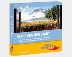 Erlebnis-Geschenkbox 'Raus aus der Stadt fuer 2'