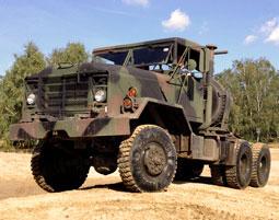US Truck offroad fahren