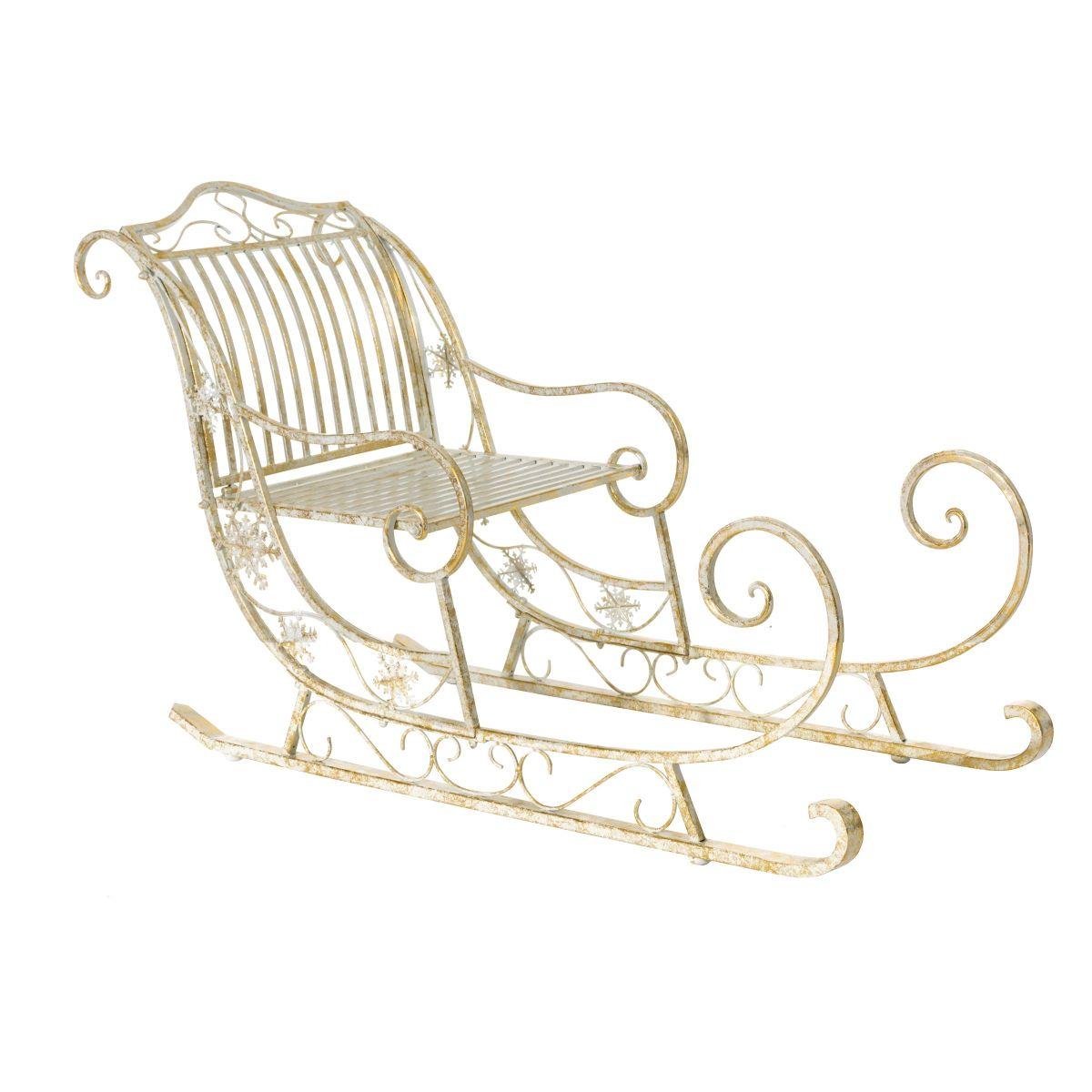 deko schlitten skadi metall einfach geschenke. Black Bedroom Furniture Sets. Home Design Ideas