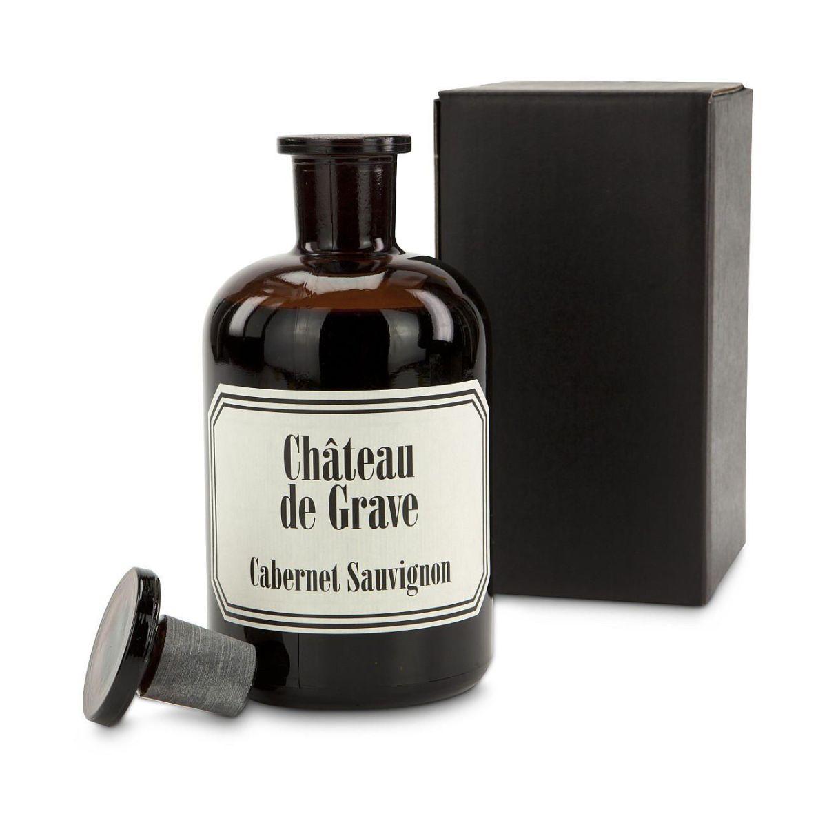 geschenk set die apothekerflasche 0 5l rotwein einfach. Black Bedroom Furniture Sets. Home Design Ideas