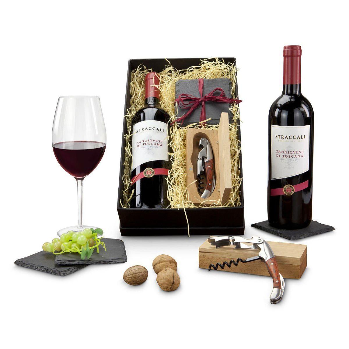 Geschenk-Set, Wein-Freu(n)de, Wein,Sommeliermesser ...