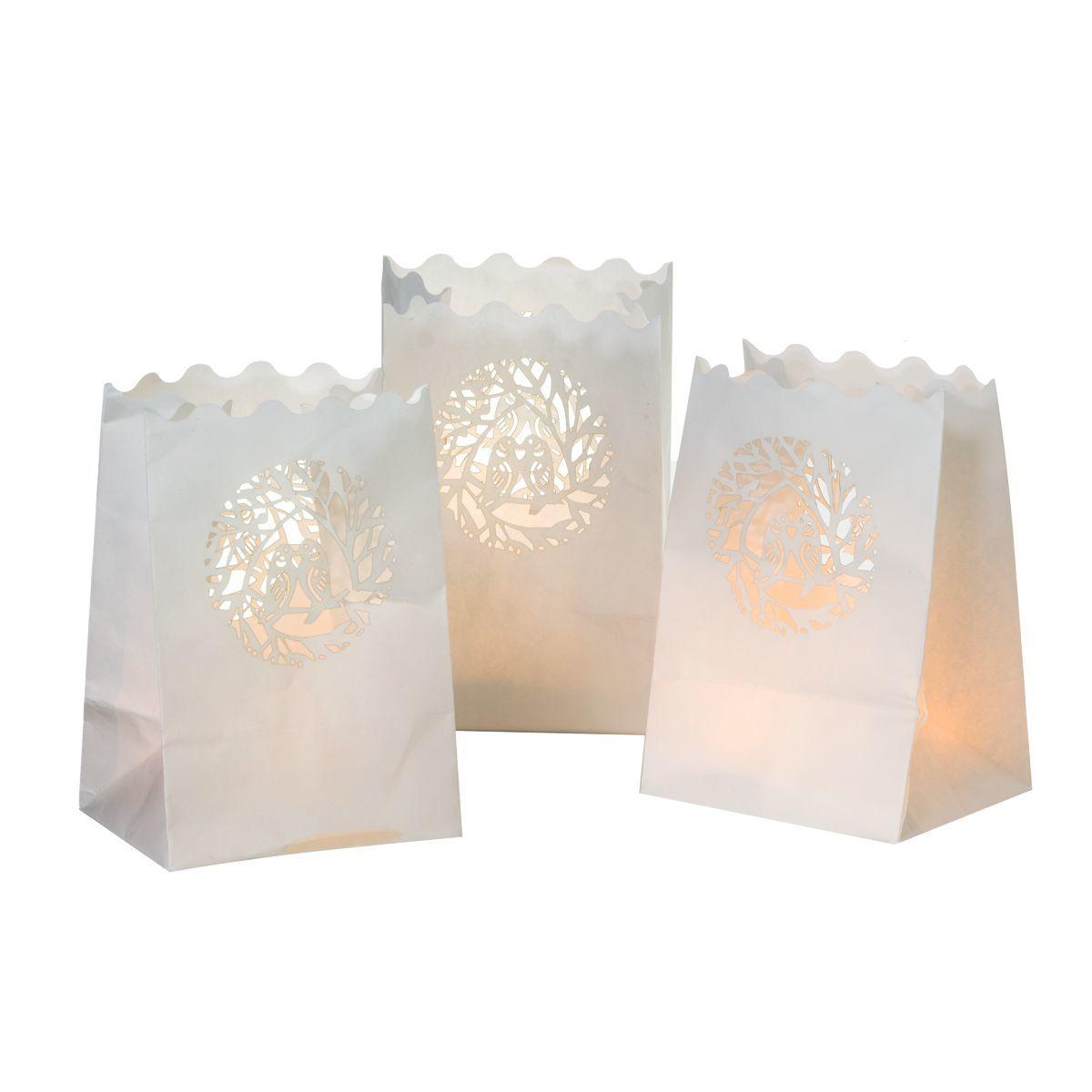 Innenarchitektur Einfallsreiche Geschenke Beste Wahl Lichtertüten Spatzenpaar
