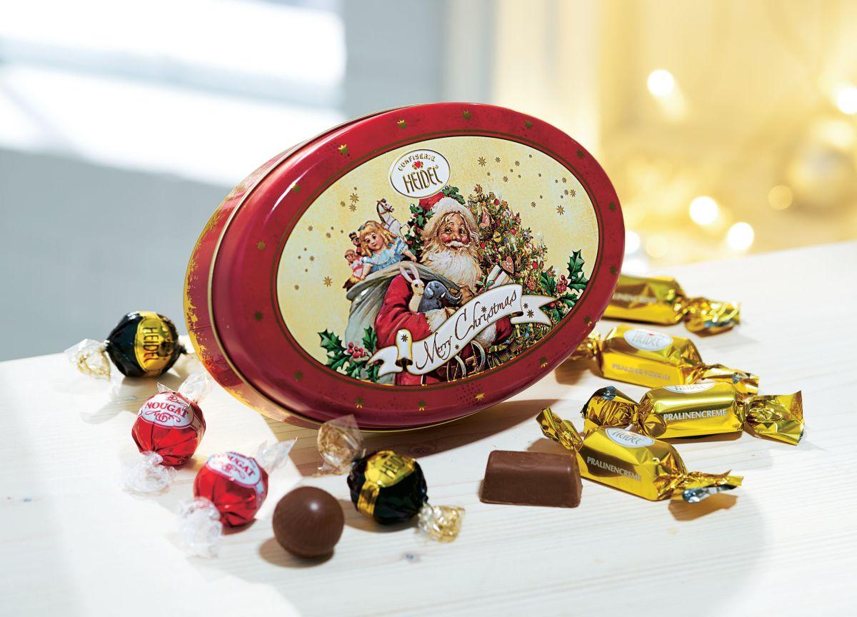 pralinendose weihnachts nostalgie einfach geschenke. Black Bedroom Furniture Sets. Home Design Ideas
