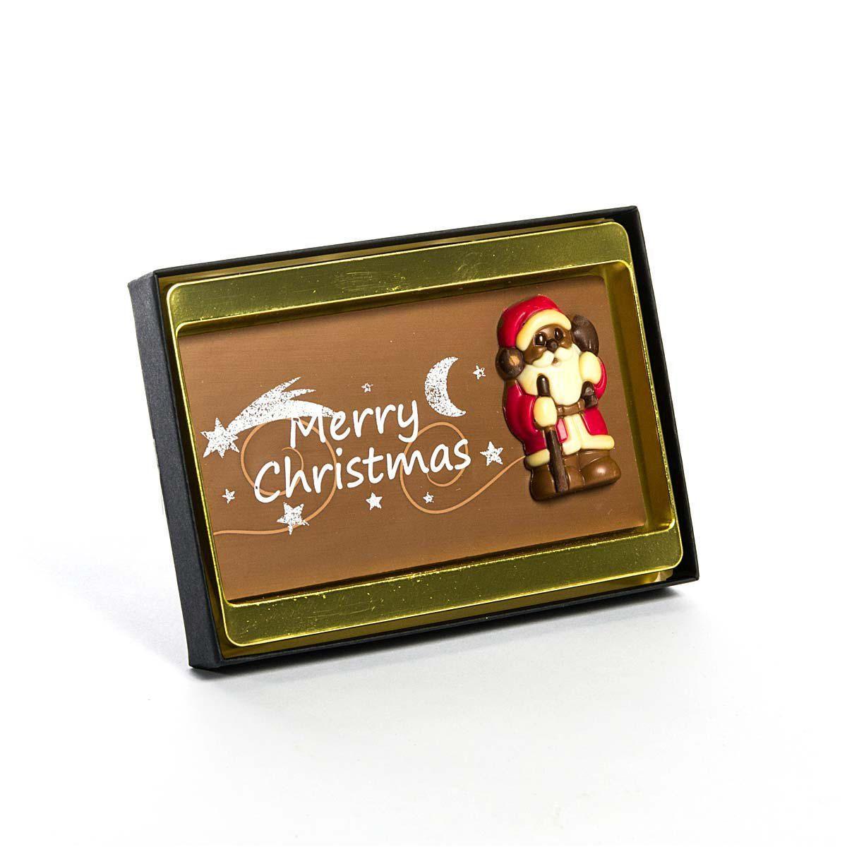 Schokoladenrelieftafel Christmas, 75 g - einfach-geschenke-finden.de