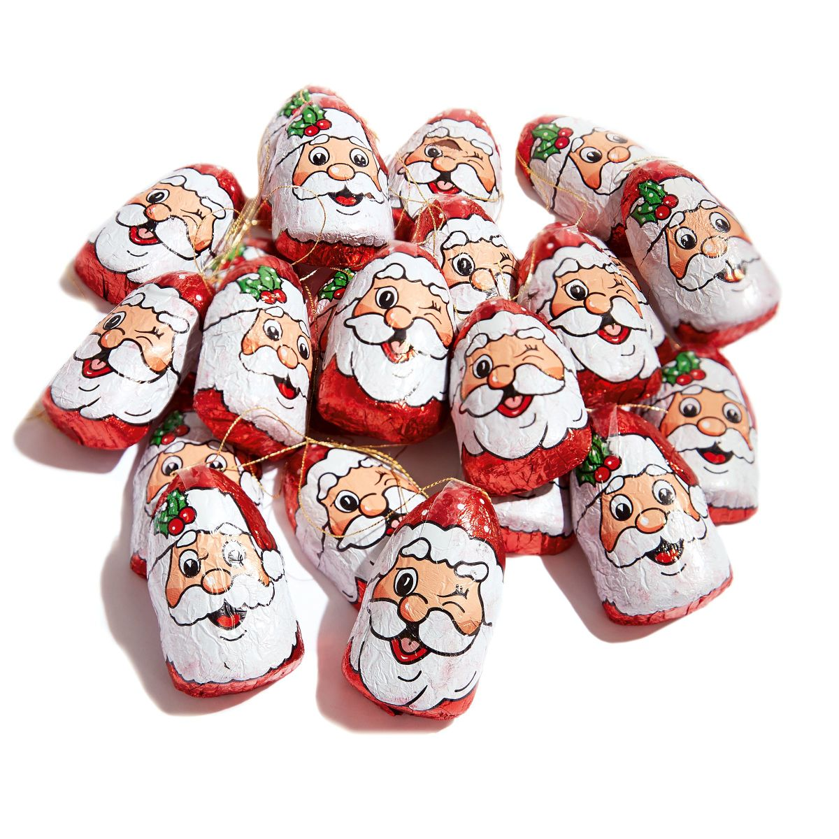 Schoko Weihnachtsmänner