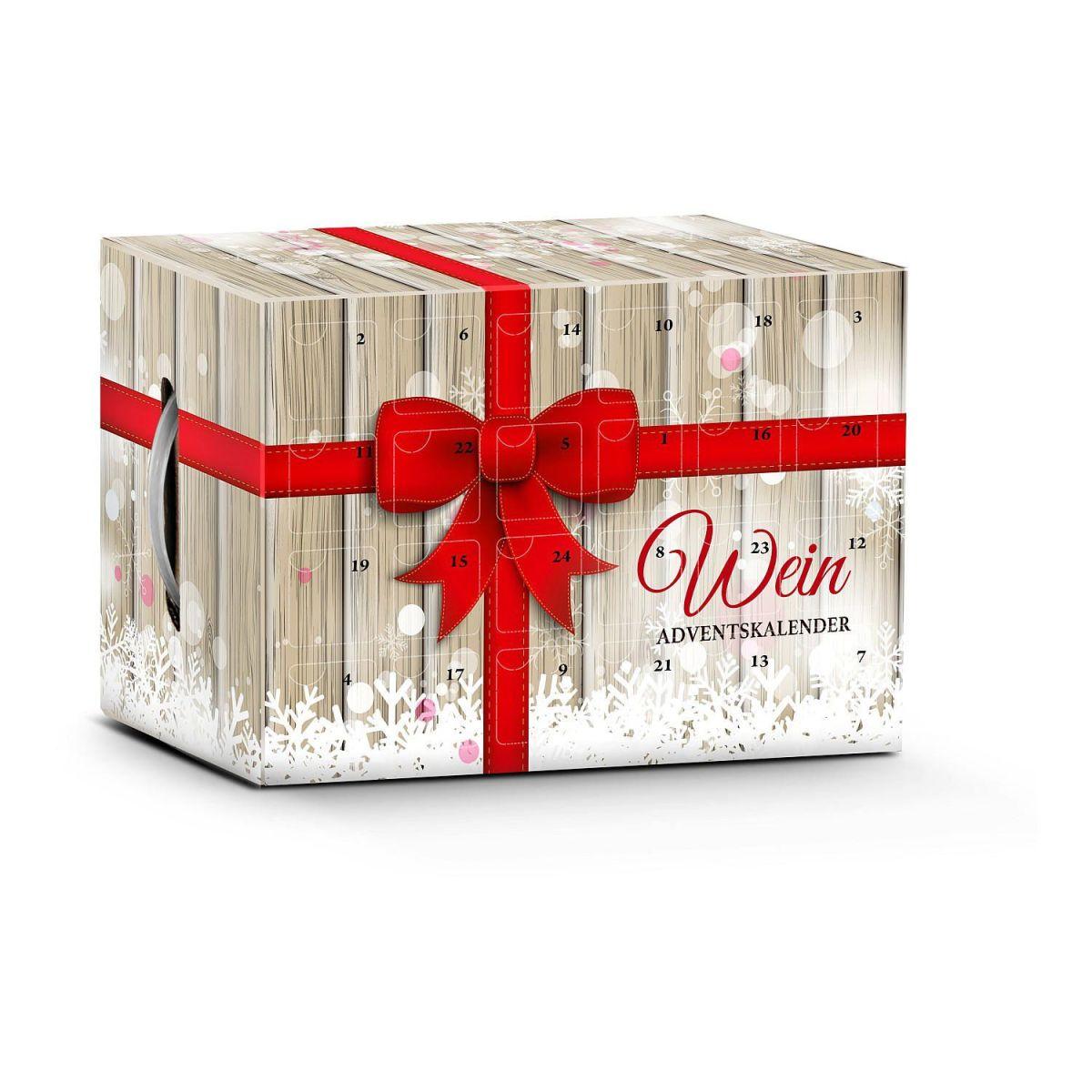 Ansprechend Einfallsreiche Geschenke Foto Von Wein-adventskalender Geschenk