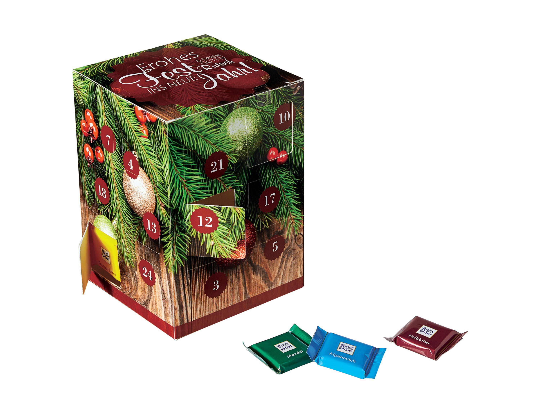 Adventskalender Cube Inkl Innenfach Ca 10x10x143cm Einfach