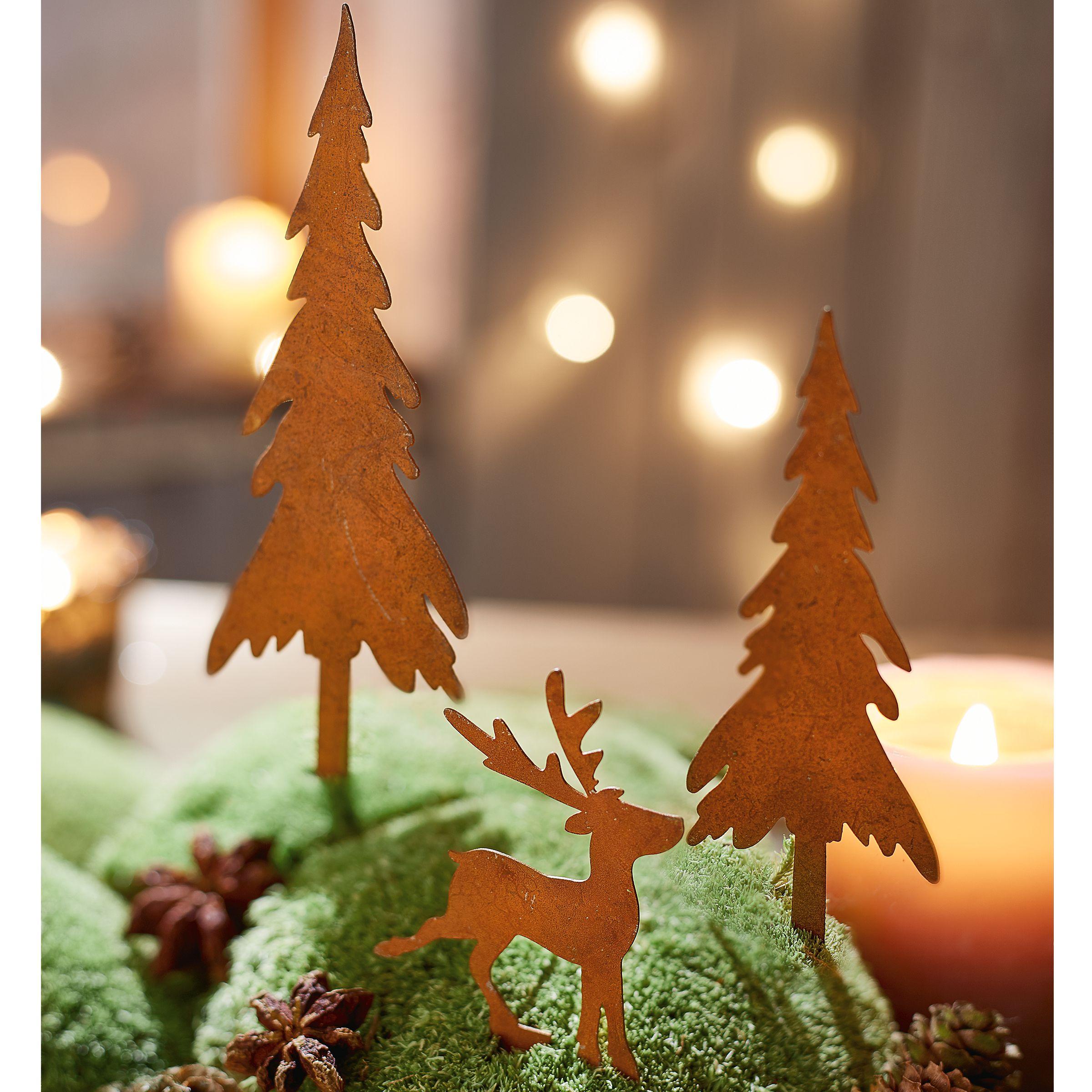 Weihnachten weihnachtsdekoration au endekoration for Dekostecker weihnachten