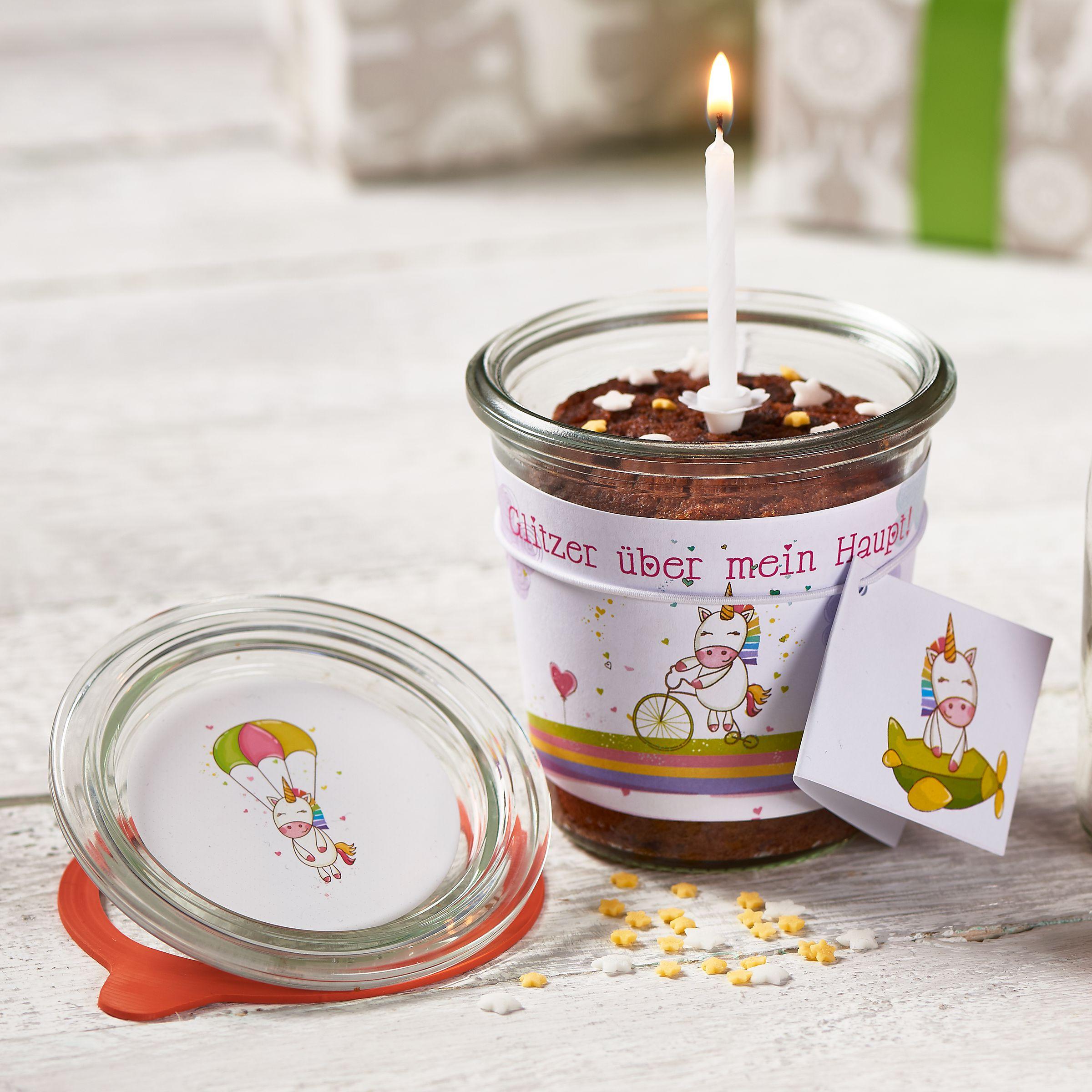 Kuchen Im Glas Einfach Geschenke Finden De