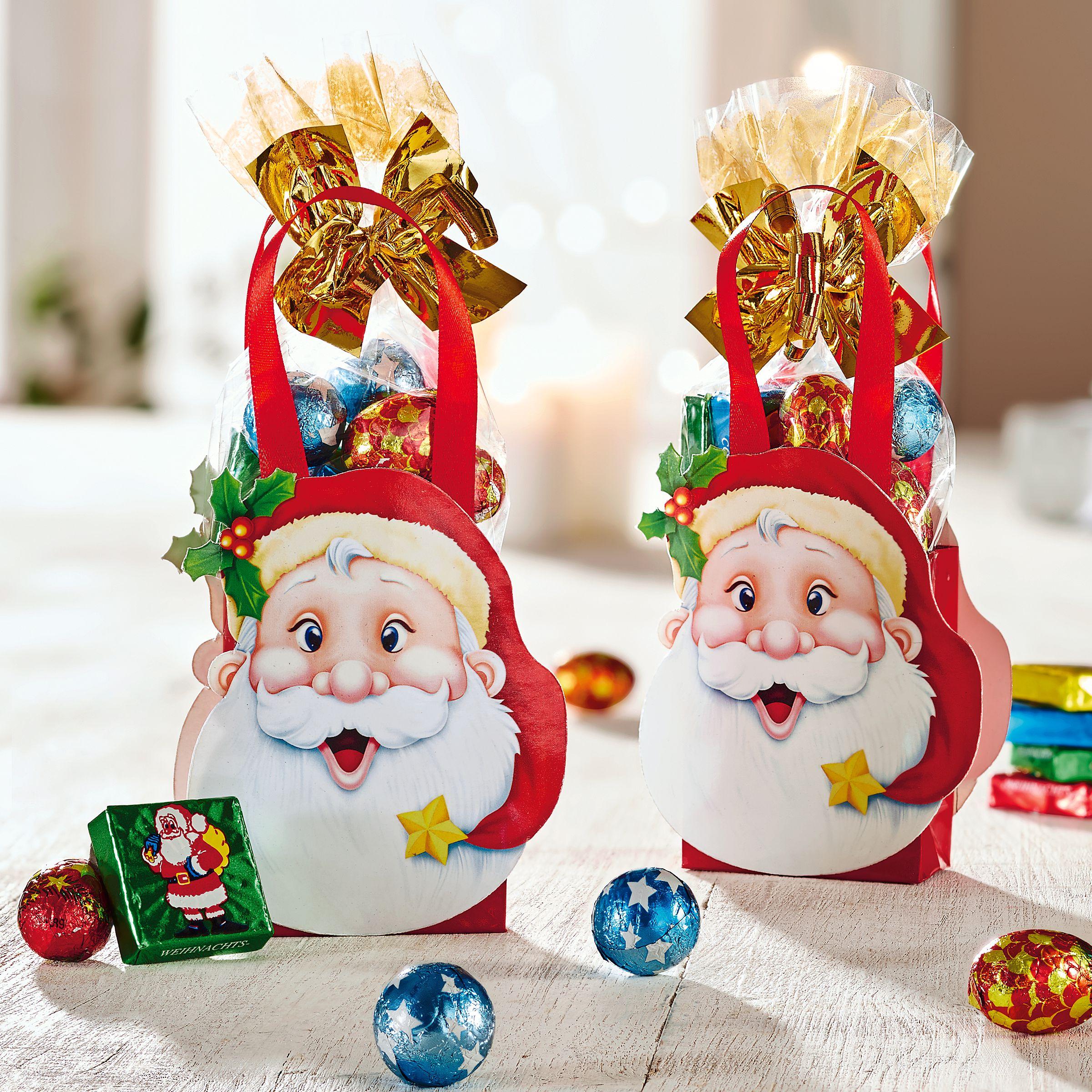 Süßigkeiten-Beutel-Set, 2-tlg. Weihnachtsmann - einfach-geschenke ...