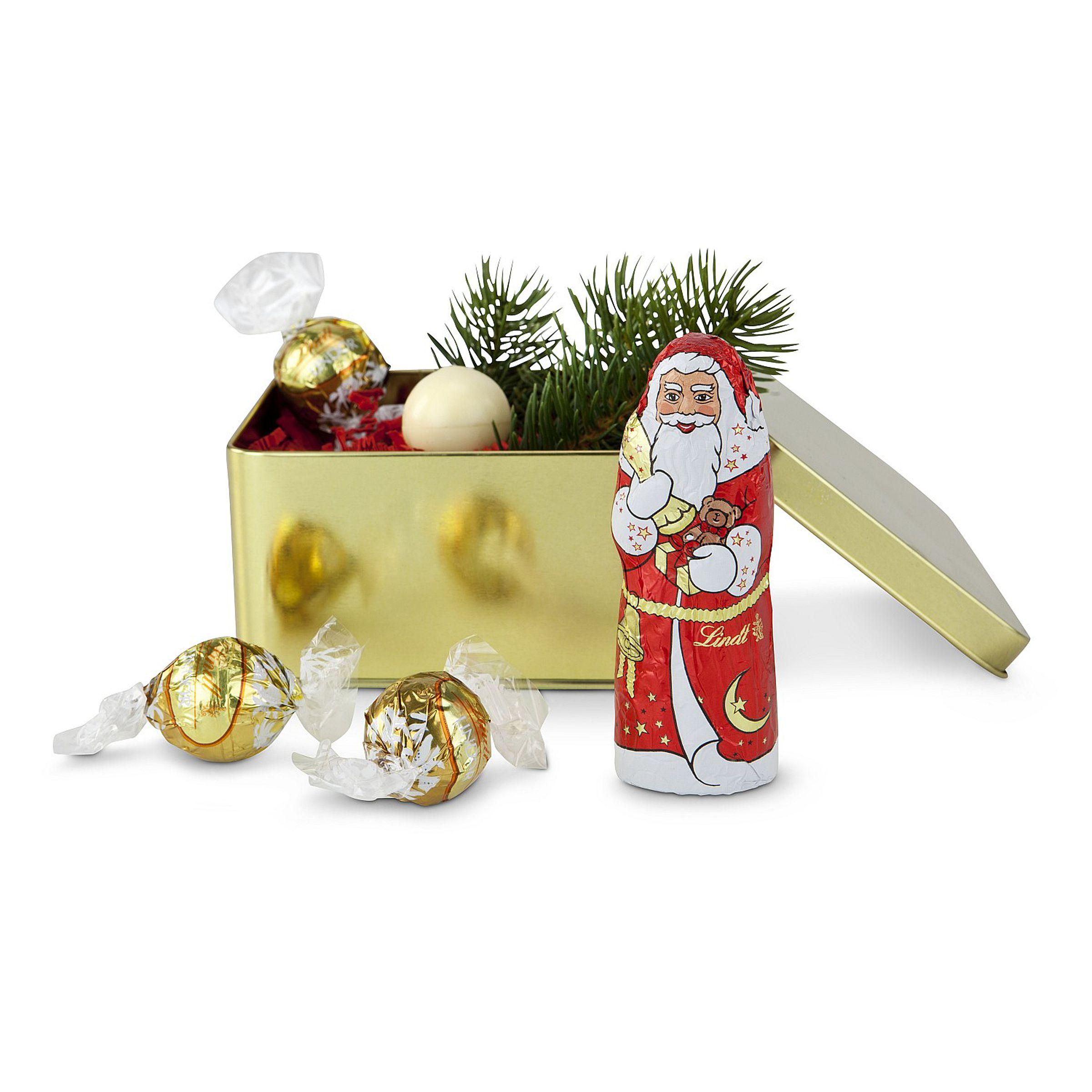 Weihnachtsmann & Lindorkugeln Weihnachts-Set - einfach-geschenke ...